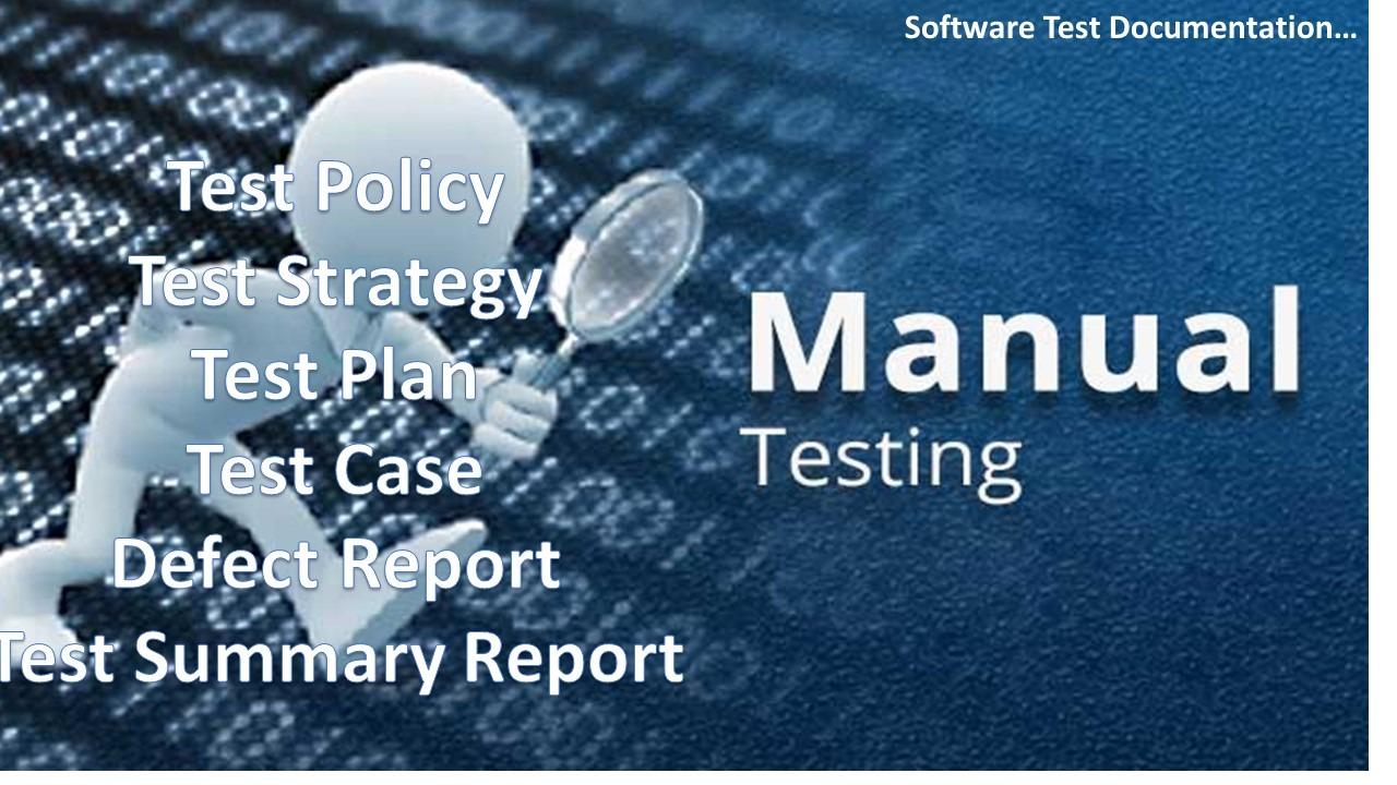 software testing docs