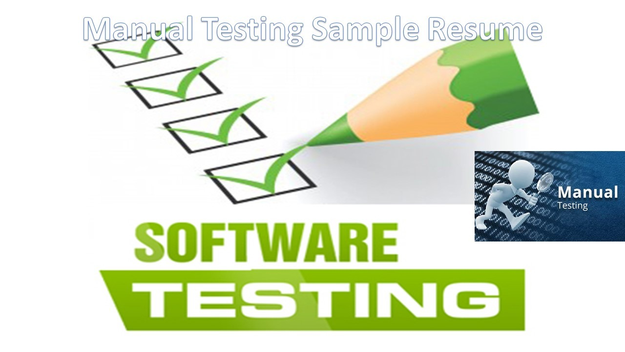 Software Testing Resume Software Testing