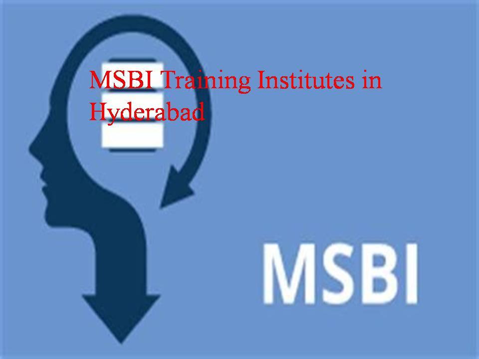 msbi training institutes in hyderabad