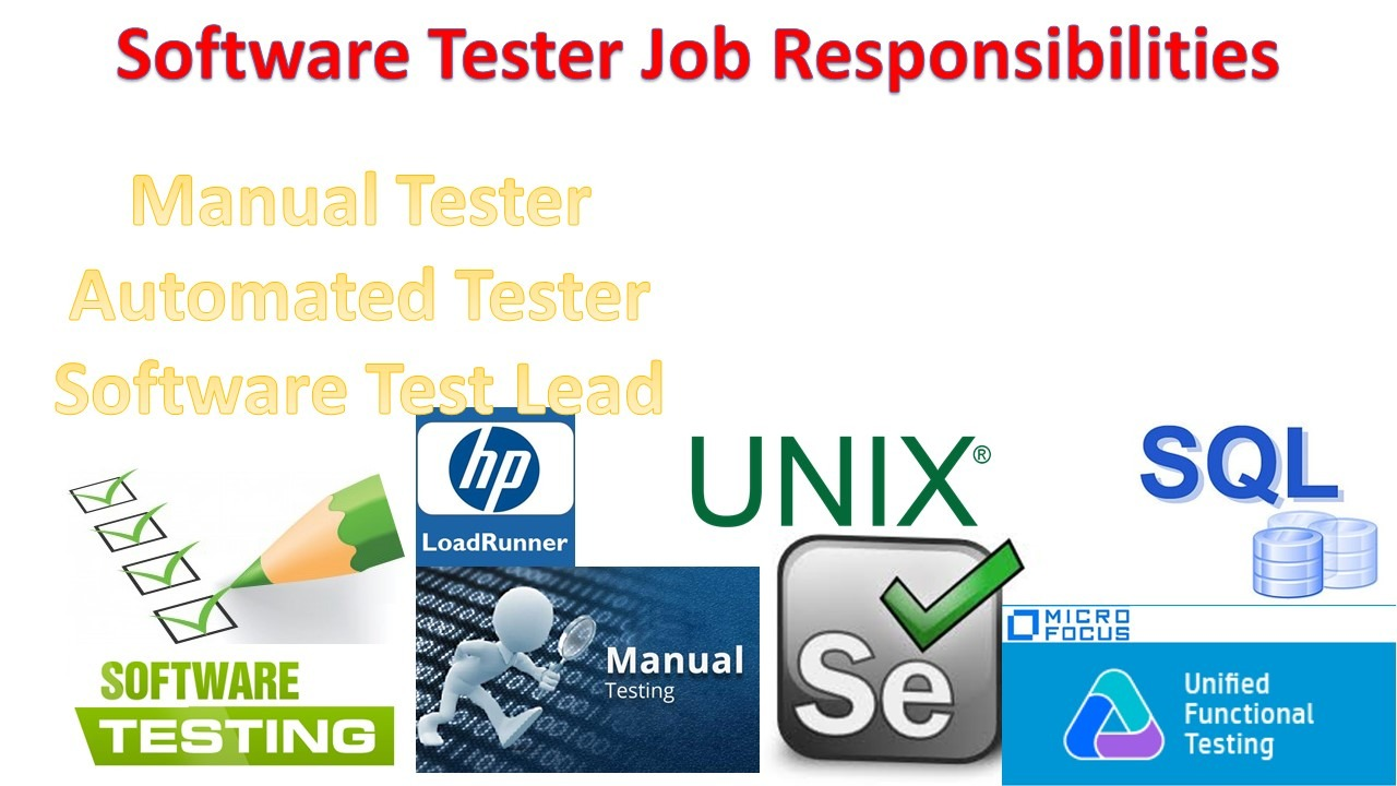 Software Tester Job Responsibilities