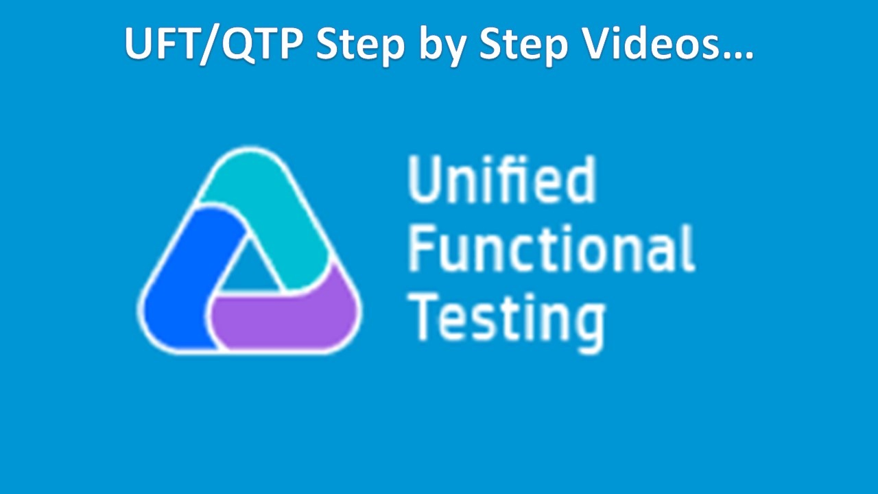 UFT Training Videos - Software Testing