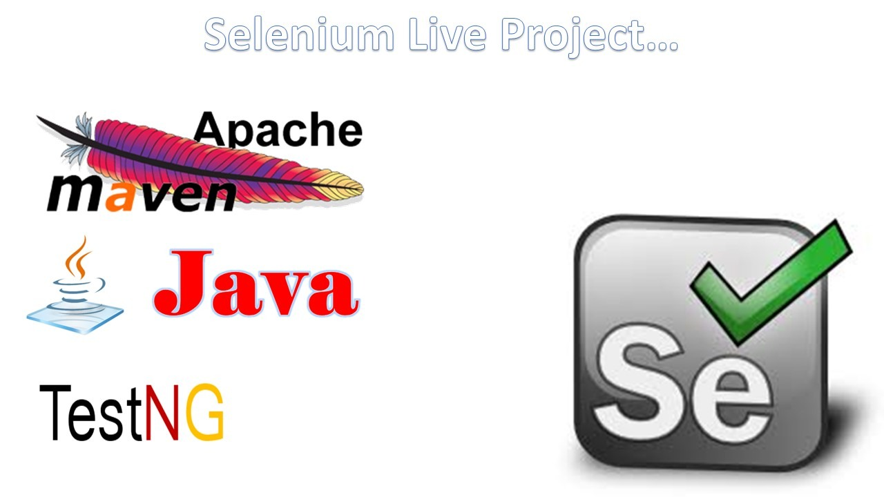 Selenium Live Project - Software Testing