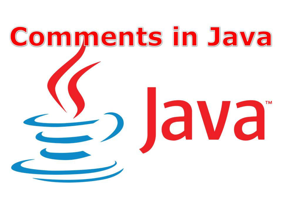 Comments in Java