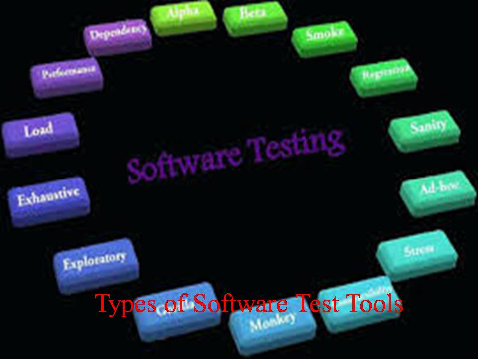 Types of Software Test Tools
