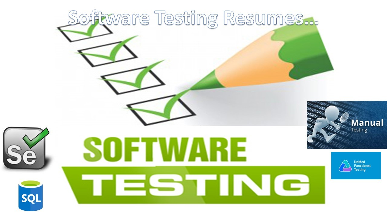 Testing Resumes - Testing on 5 years experience resume, erp resume, no experience resume, 3 years experience resume,
