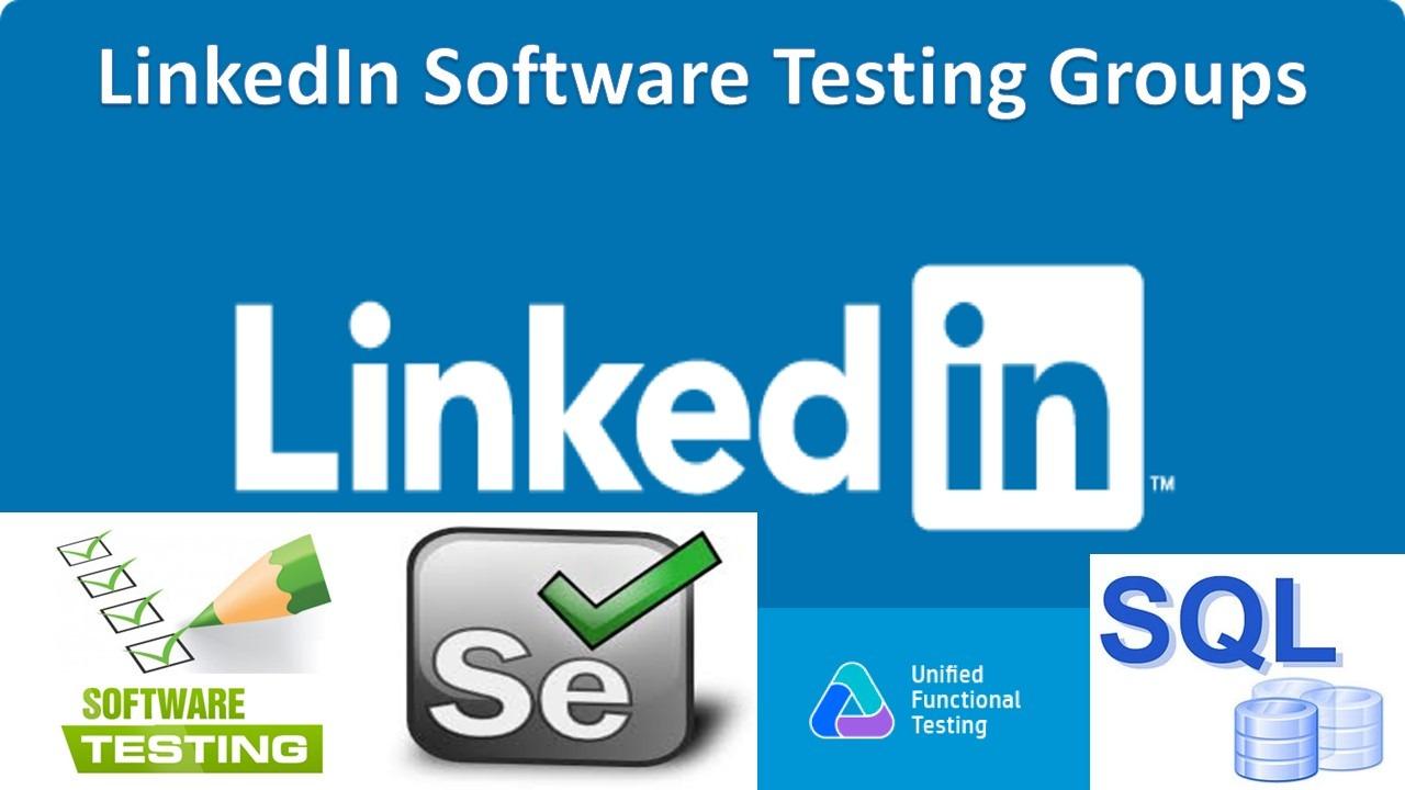 LinkedIn Software Testing Groups