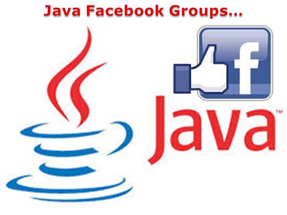 Java Facebook Groups
