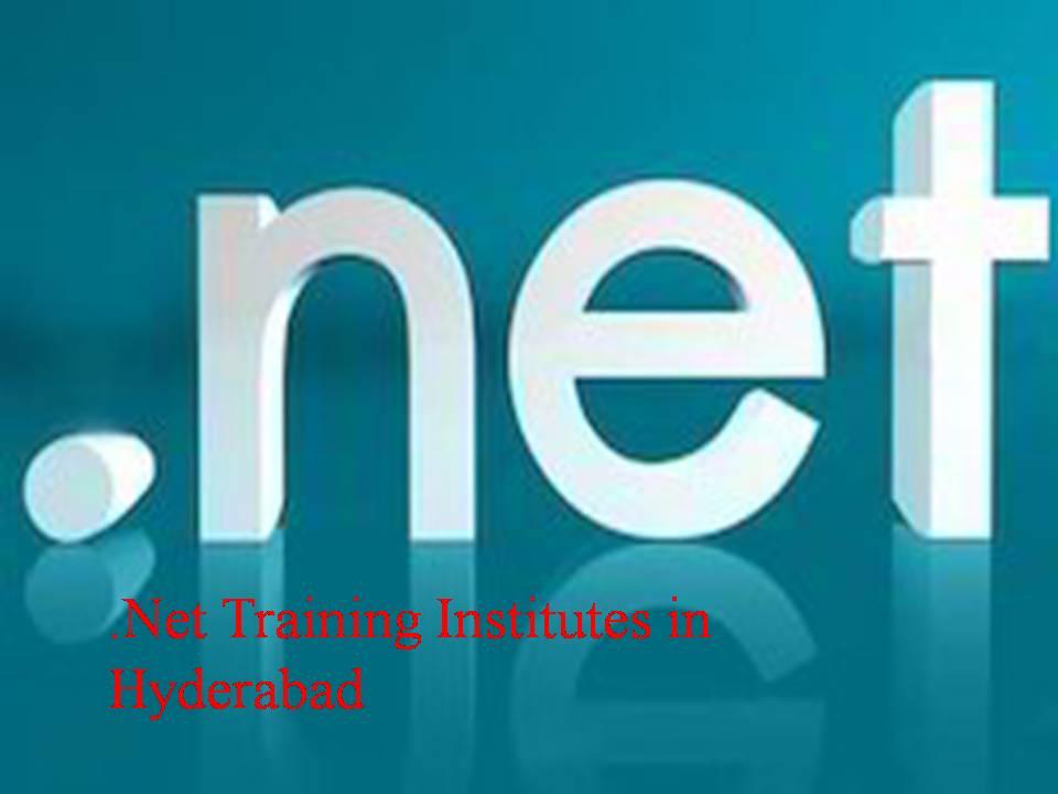 .Net Training Institutes in Hyderabad
