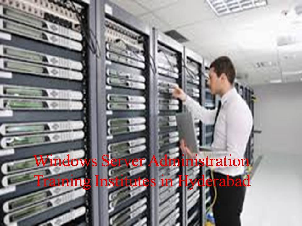 Windows Server Administration Training Institutes in Hyderabad