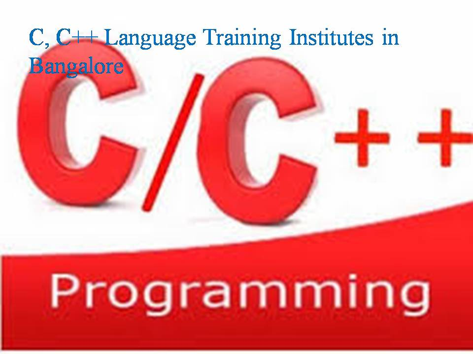 C, C++ Language Training Institutes in Bangalore - Software