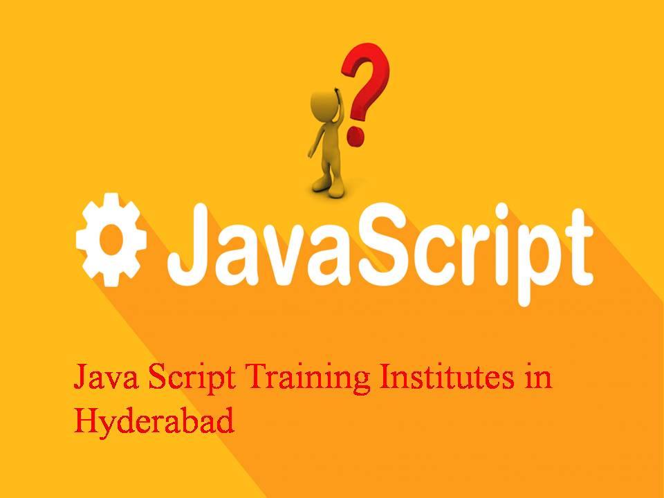 Java Script Training Institutes in Hyderabad