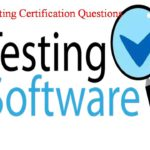Software Testing Certification.