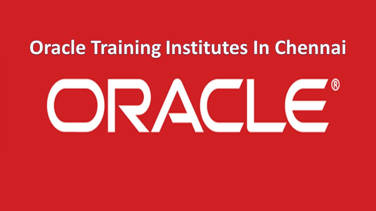 Oracle Apps Training Institutes In Chennai