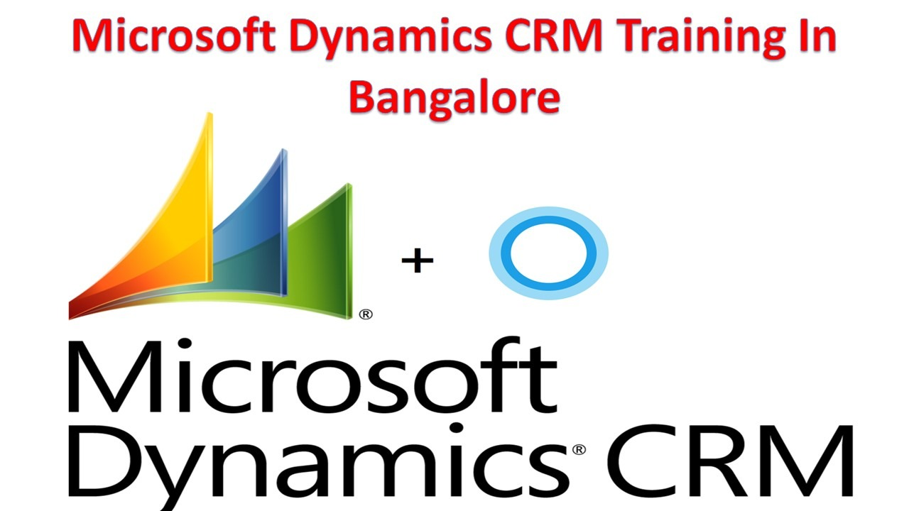 Microsoft Dynamics CRM Training In Bangalore