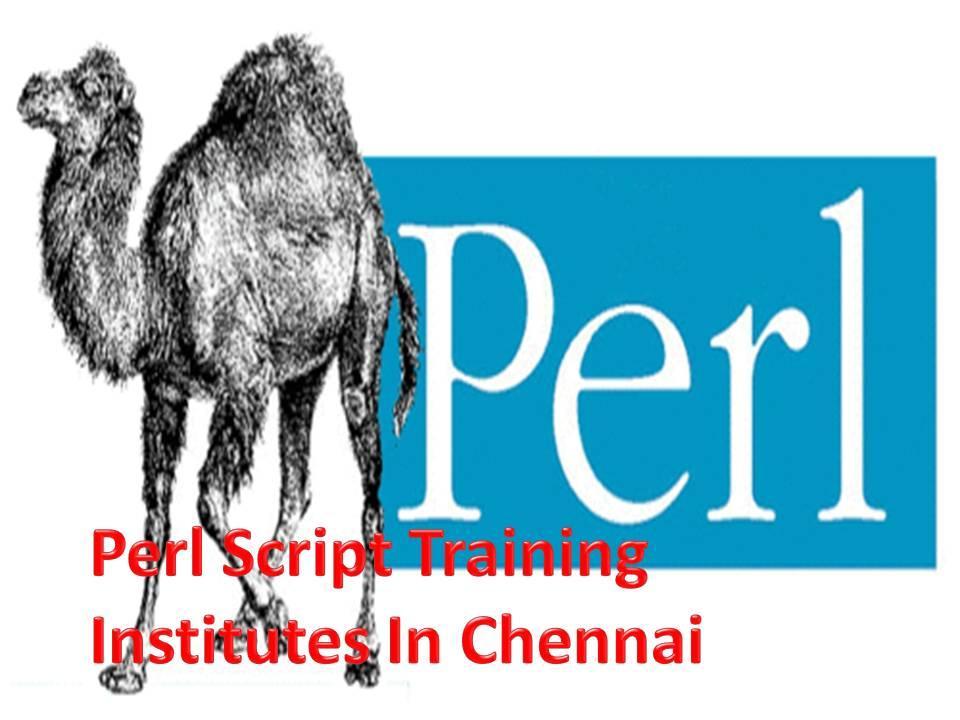 Perl Script Training Institutes In Chennai