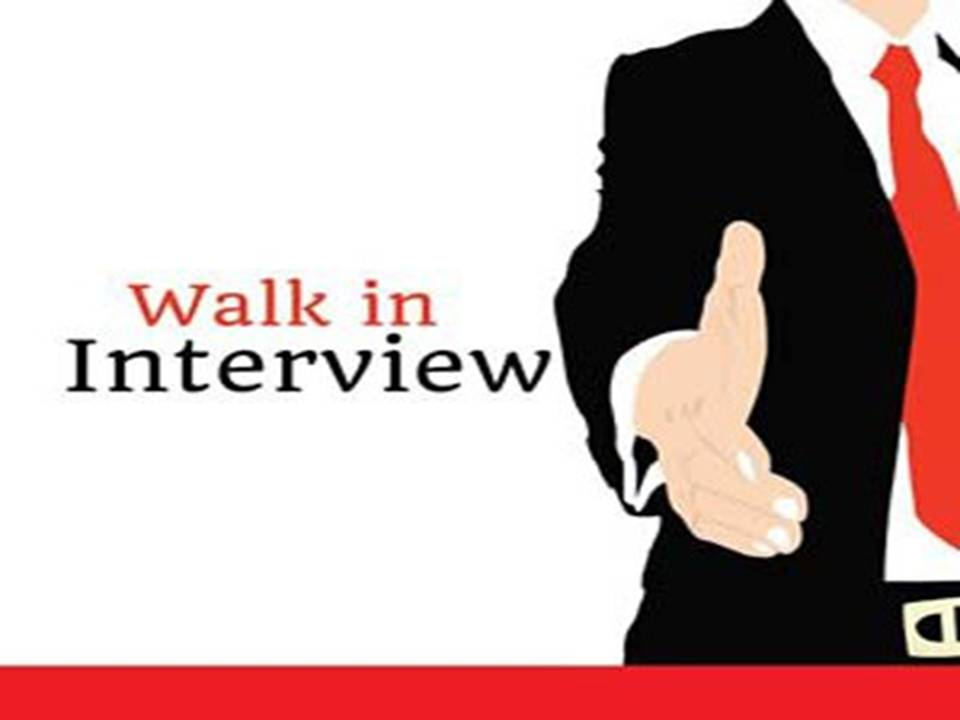 Software Walk-in Jobs September 12 th