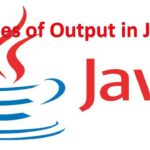 Types of Output in Java Programming