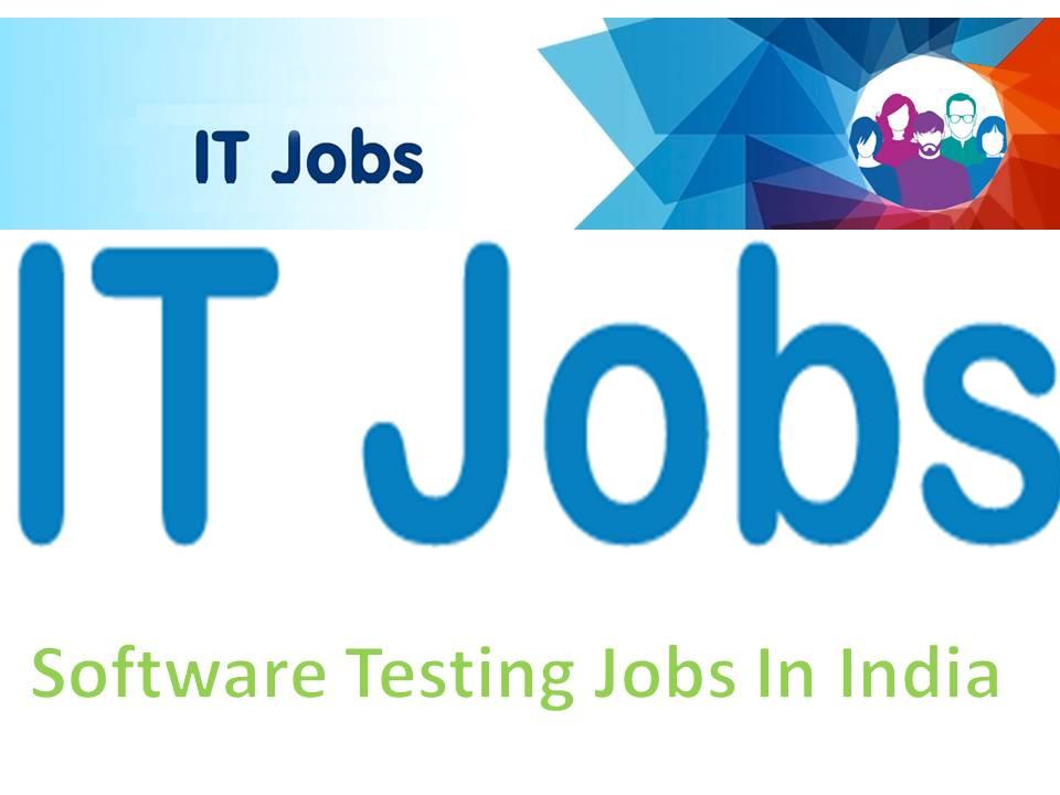 Software Testing Jobs October 31st