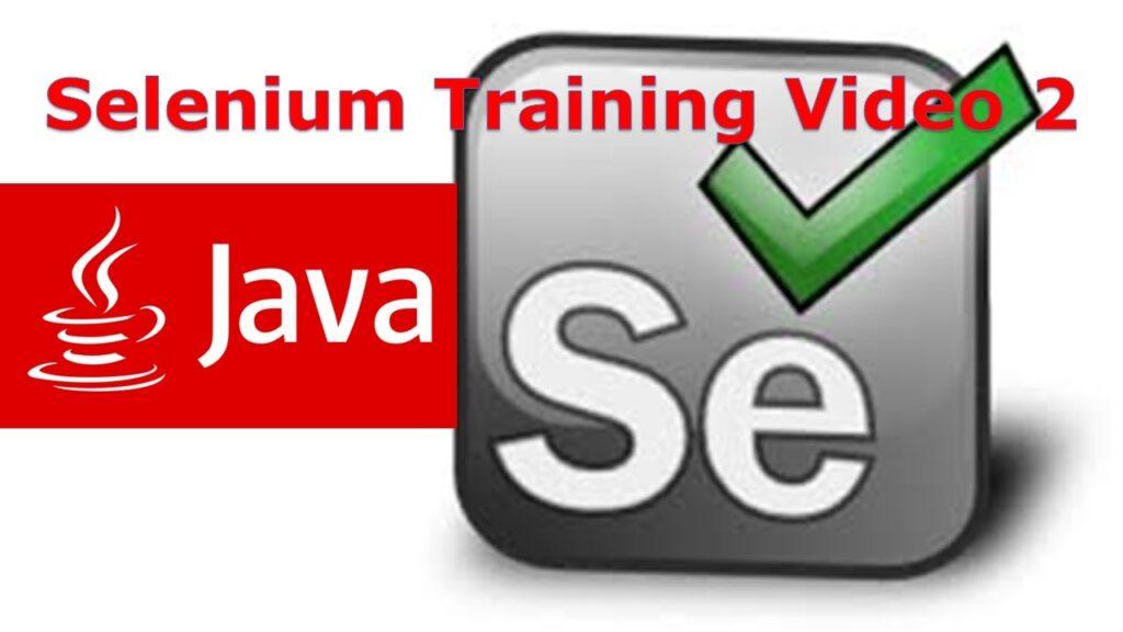 Selenium Online Training Video 2