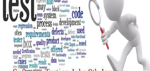 Software Testing Jobs 8th January