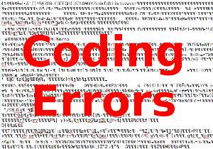 code errors