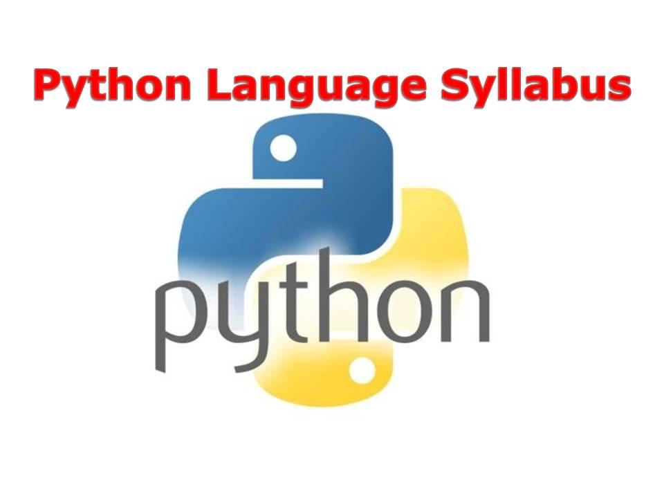 Python Programming Syllabus