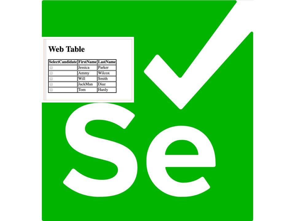Web Table